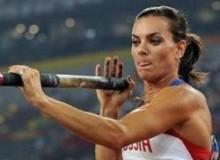 Елена Исинбаева на Олимпиаде 2012
