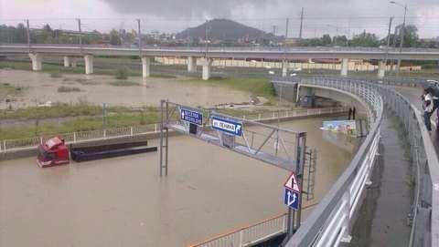 Наводнение в Сочи 25 сентября 2013: фото