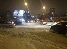 Сильные морозы в Волгограде