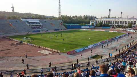 15 мая 2014. Последний матч на Центральном стадионе в Волгограде