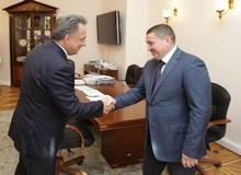 Встреча А. Бочарова и В. Мутко