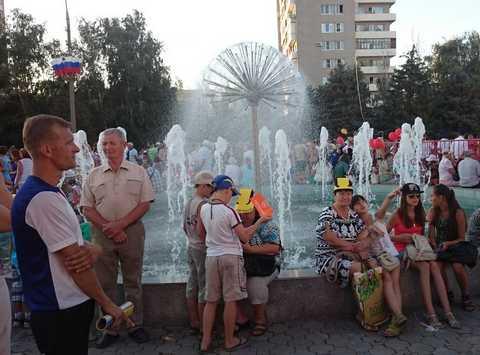 На дне города Волжский 2014