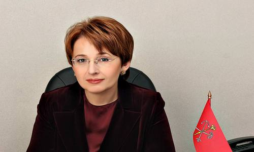 Депутат Оксана Дмитриева