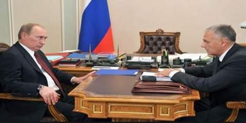 Путин и Хорошавин
