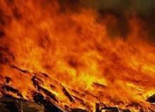Пожар в хуторе Светлый Лог