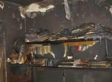 Пожар в Камышине в пятиэтажке