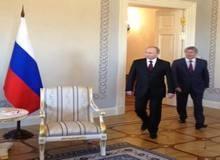 Встреча В. Путина и А.Атамбаева