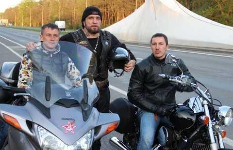 Ночные волки прорвались в Польшу