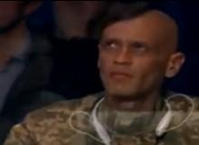 Военный, похожий на Александра Усика