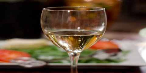 Фото: Бокал с вином