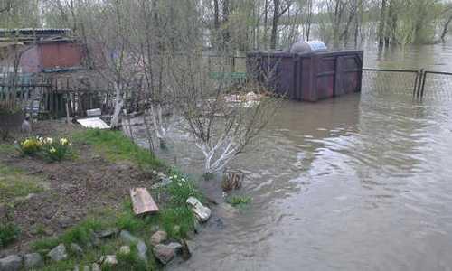 паводок в Новосибирске