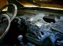 Фото сгоревшего автомобиля