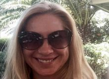 Жена бизнесмена Полонского Ольга Дерипаска