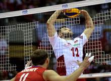 Мировая лига по волейболу Польша-Россия