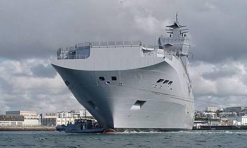 Военный корабль Мистраль