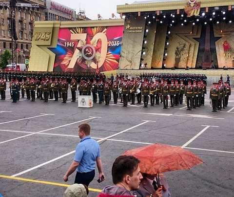 Парад 9 мая в Волгограде