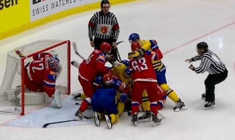 ЧМ 2015 Россия-Швеция 5:3