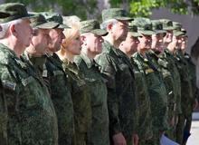 Военный сборы Волгоградских чиновников