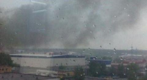 Взрыв на западе Москвы вечером 22 мая