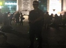 Третий Майдан в Киева разгромили люди в масках