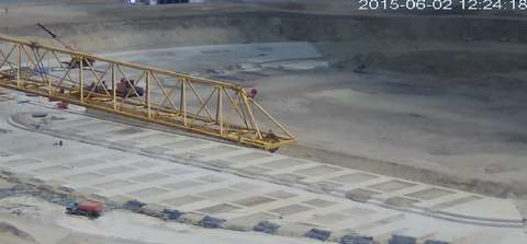 Трансляция с веб-камеры строительство стадиона в Волгограде к ЧМ2018