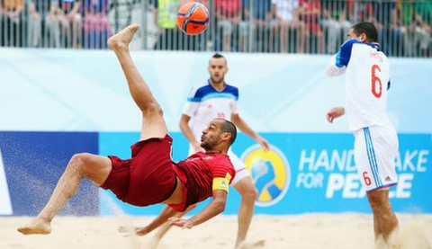 ЧМ 2015 по пляжному футболу Португалия-Россия 4:2