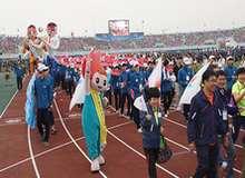 Открытие летней Универсиады 2015 в Южной Корее