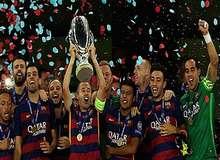 Барселона победила Севилью в матче за Суперкубок УЕФА