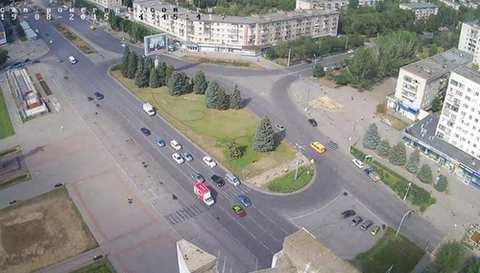 Пешеходный переход в Волжском демонтирован