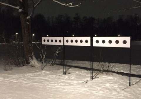 В Сокольниках открылась трасса лазерного биатлона