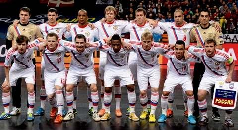 Сборная России по минифутболу на Чемпионат Европы 2016 в Белграде