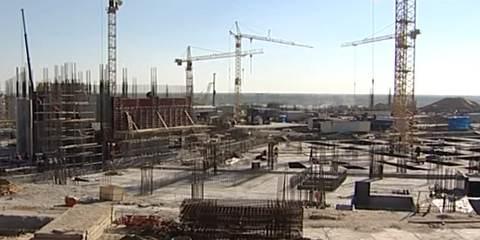 Строительство стадиона в Волгограде
