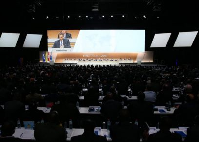 Выборы президента ФИФА в Цюрихе