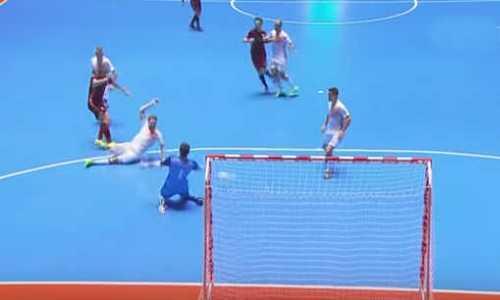 мини-футбол,Россия-Испания