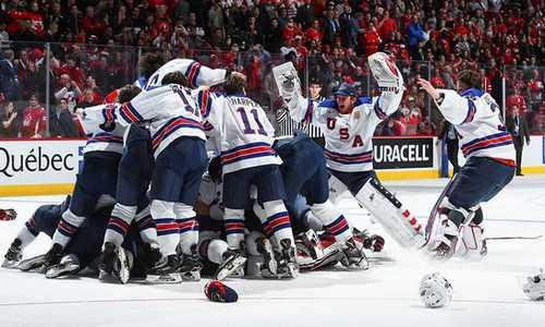 хоккей. сборная США