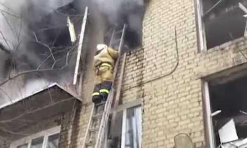 Саратов, взрыв в доме