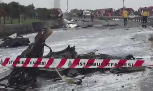 Крушение вертолета в Стамбуле 10 марта: стали известны имена российских граждан, погибших в результате ЧП