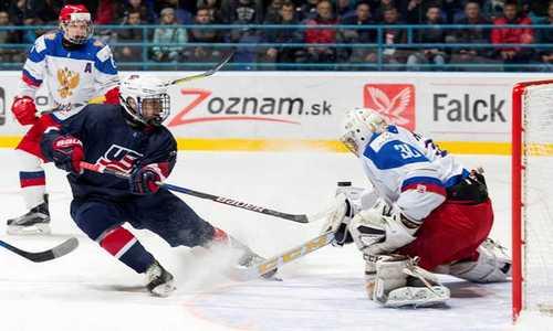 Встречу ЮЧМ 2017 по хоккею Россия-Беларусь 17 апреля в прямой трансляции покажет канал «Матч ТВ»