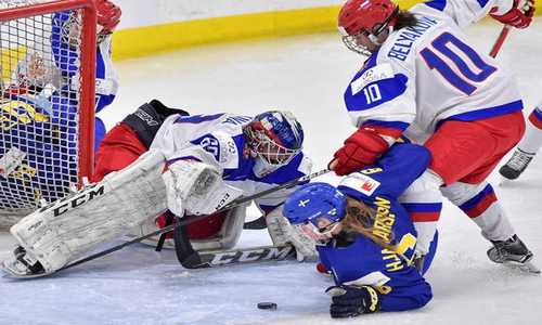 Сборная России обыграла сборную Швеции в матче за 5-6 места на женском чемпионате мира по хоккею 2017