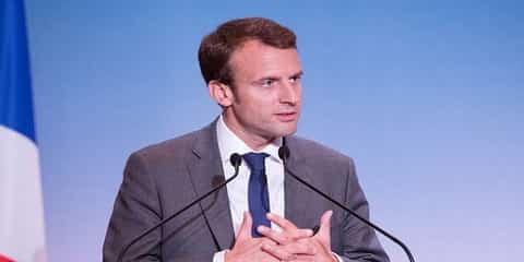 Выборы во Франции Эмманюэль Макрон
