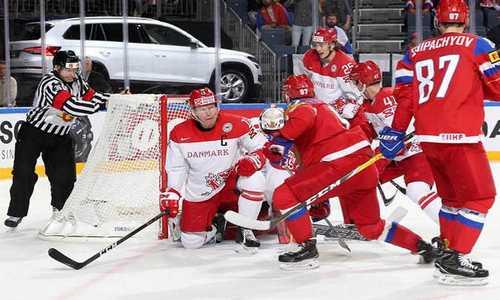 Хоккеисты сборной России обыграли Данию, одержав свою четвертую победу на чемпионате мира 2017