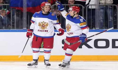 Россия и Словакия 13 мая сыграют в матче 5-го тура ЧМ по хоккею 2017, прямая трансляция пройдет на Первом канале