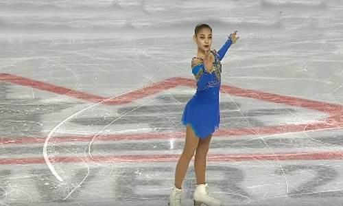 Алена Косторная, финал юниорского Гран-при