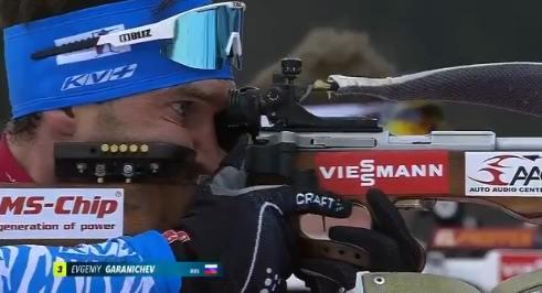 Евгений гараничев бронзовый призер масс-старта