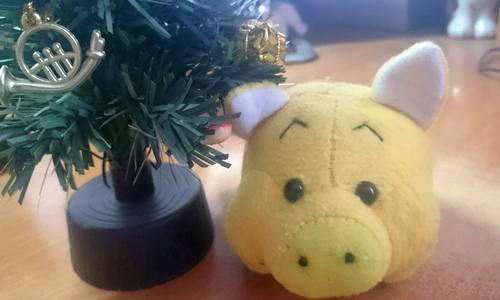 Символ нового года свинка