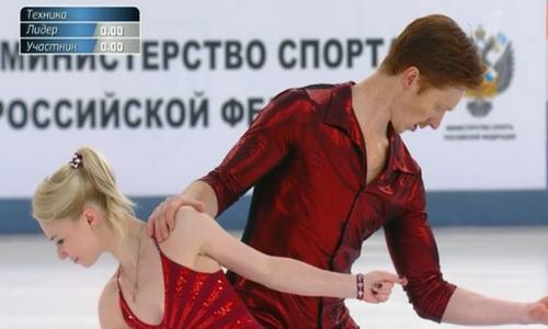 Евгения Тарасова и Владимир Морозов,чемпионат России