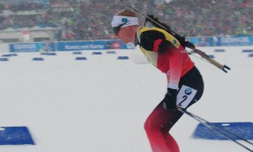 Норвежский биатлонист Йоханнес Бё, Оберхоф
