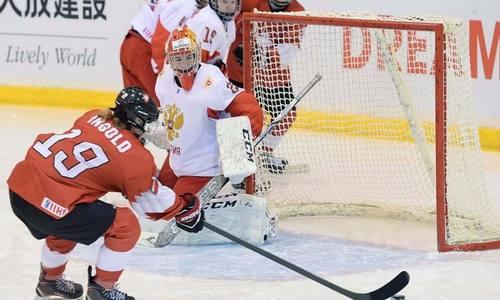 Хоккей,Россия-Швейцария,девушки
