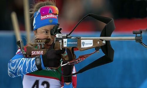 Екатерина Юрлова, ЧЕ 2019 по биатлону