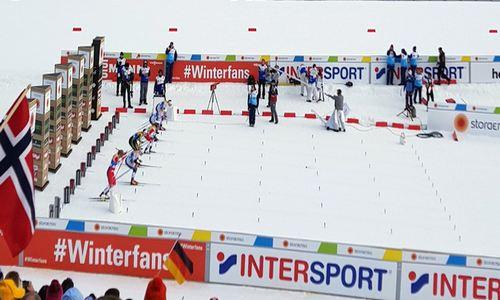 спринт, ЧМ 2019 по лыжным гонкам